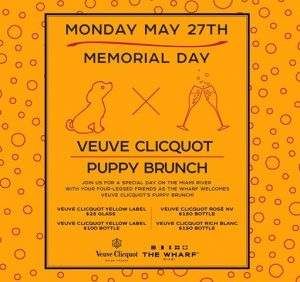 Memorial Day Puppy Brunch @ The Wharf Miami